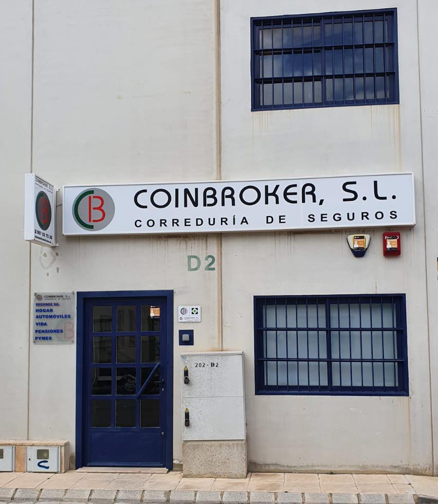 Coinbroker fachada